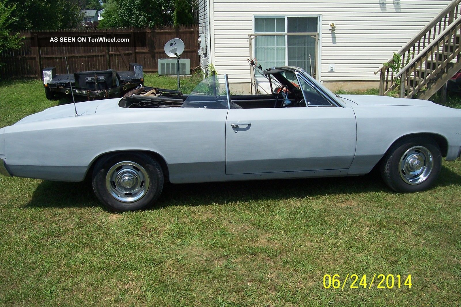 1966 Chevy Chevelle Malibu Ss Clone Cruiser Matching Numbers Runs Chevrolet And Drives