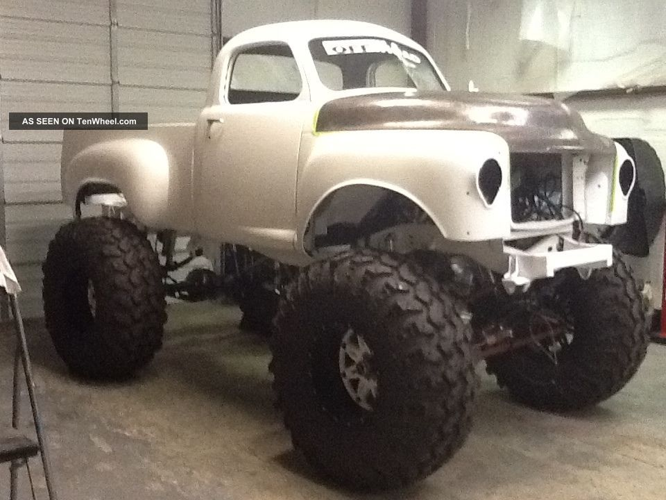 Custom Monster Truck Lgw on Buick 3 8 Series 2 Engine