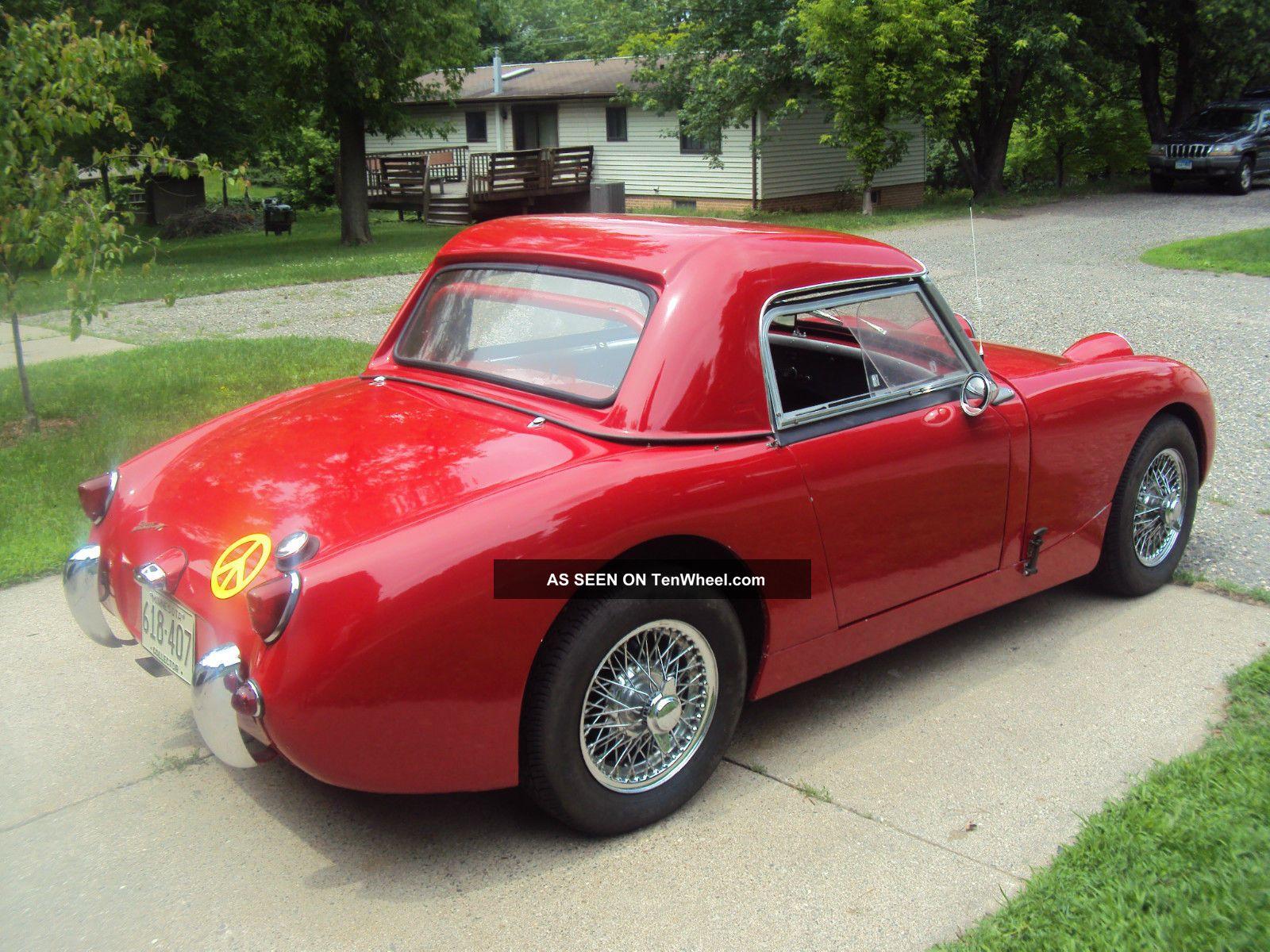 Austin Healey Bugeye Sprite 1959