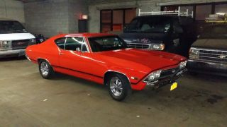 1968 Chevelle Real Sport 454 Engine photo