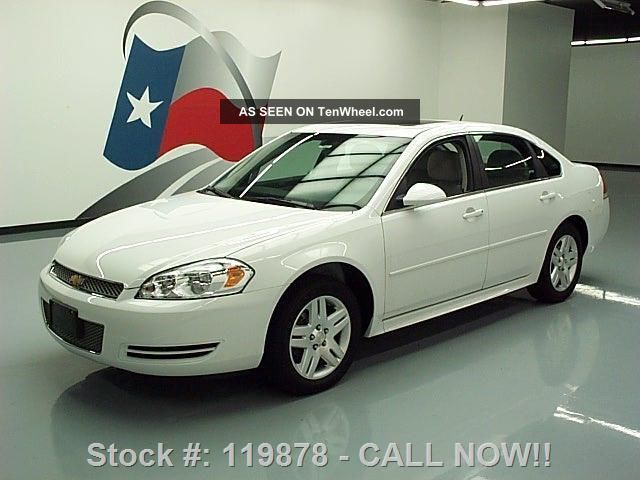 2014 chevy impala lt limited alloy wheels 12k texas direct. Black Bedroom Furniture Sets. Home Design Ideas