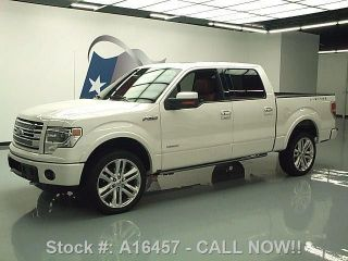2013 Ford F150 Ltd Crew 4x4 Ecoboost V6 34k Texas Direct Auto photo