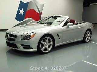 2013 Mercedes - Benz Sl550 Roadster Bi - Turbo P1 6k Mi Texas Direct Auto photo