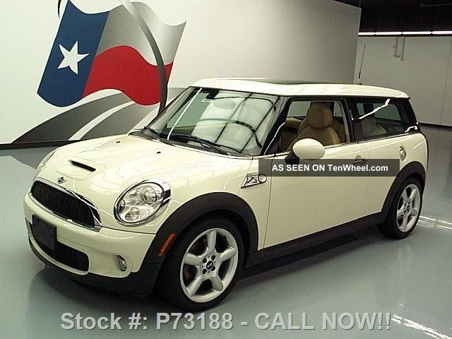2009 Mini Cooper Clubman S 6 - Speed Pano 32k Mi Texas Direct Auto Cooper photo