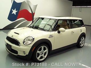 2009 Mini Cooper Clubman S 6 - Speed Pano 32k Mi Texas Direct Auto photo