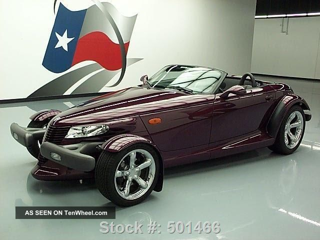 1999 Plymouth Prowler Convertible 6k Texas Direct Auto Prowler photo