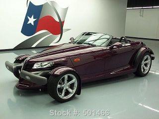 1999 Plymouth Prowler Convertible 6k Texas Direct Auto photo