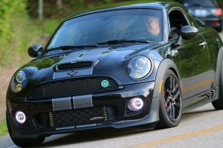 2012 Mini Cooper S Jcw Recaros N18+mods+extras Midnight Black,  17kmi Warr.  Trade photo