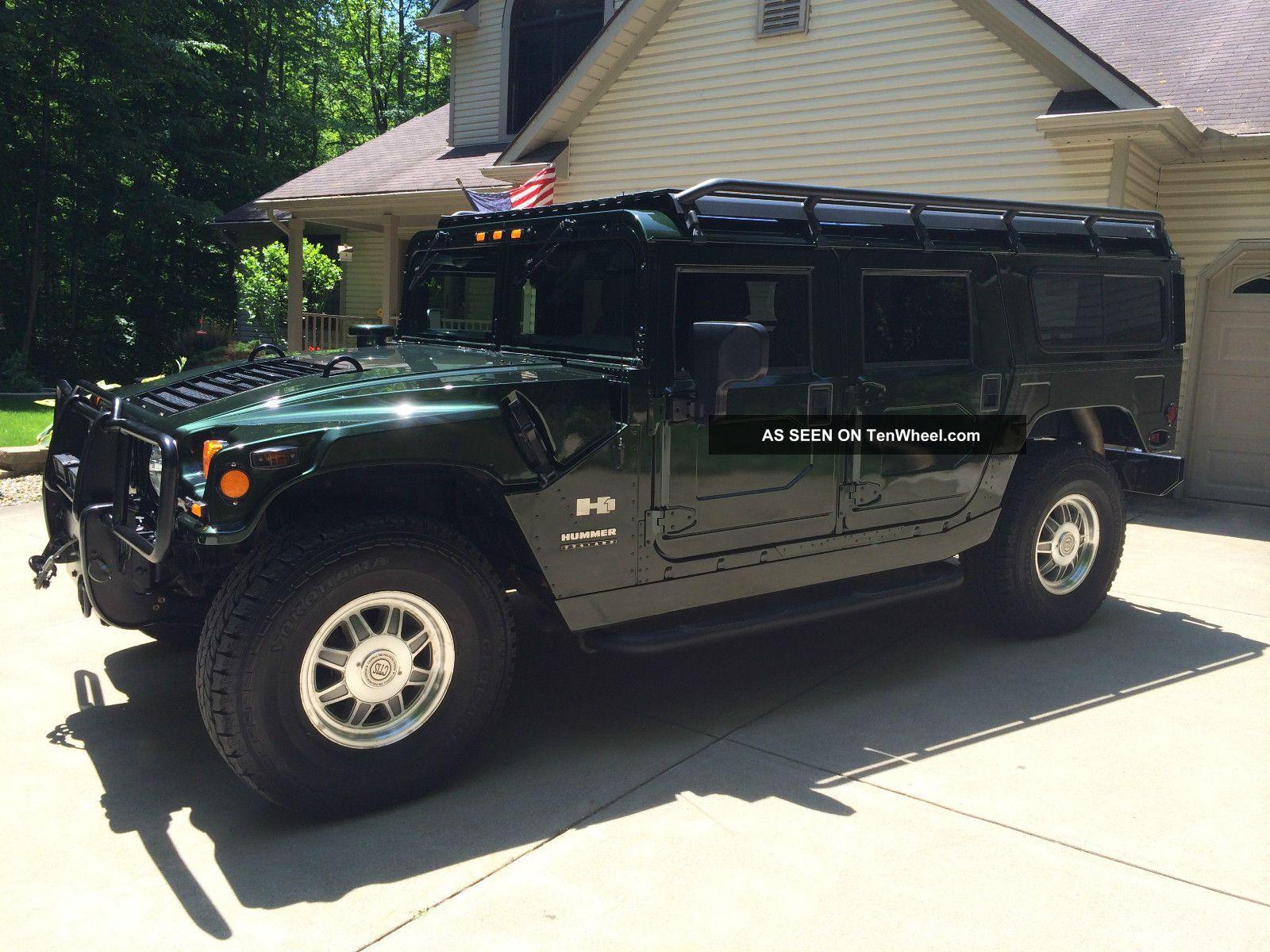 2001 Wagon H1 Hummer - Woodland Green H1 photo