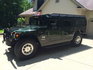 2001 Wagon H1 Hummer - Woodland Green photo