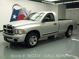 2005 Dodge Ram Reg Cab Longbed Hemi Bedliner Tow 51k Mi Texas Direct Auto photo