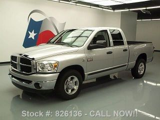 2007 Dodge Ram 2500 Quad Diesel 6 - Passenger Tow 68k Mi Texas Direct Auto photo