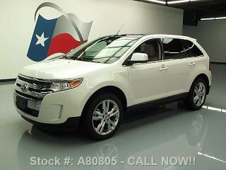 2011 Ford Edge Ltd Awd Pano 30k Mi Texas Direct Auto photo