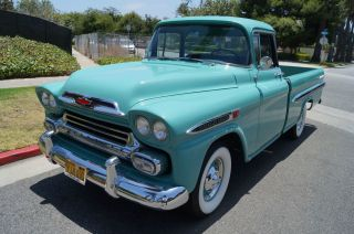 1959 California Truck With Custom Cab - Long Time Owner History photo