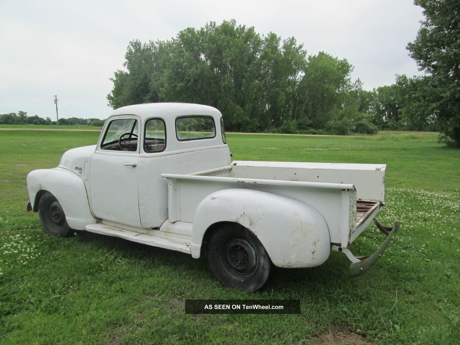 1949 Chevy 5 Window Pickup 3100 1948 1950 1951 1952