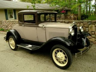 1931 Model A Coupe All Ford Steel photo