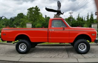 1969 Chevrolet C - 10 4x4 Lond Bed Pick Up Lifted photo