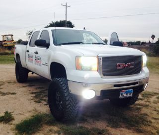 2008 Gmc Sierra 2500hd Duramax 6.  6l Turbodiesel Lifted Z71 4x4 Deleted Stack photo