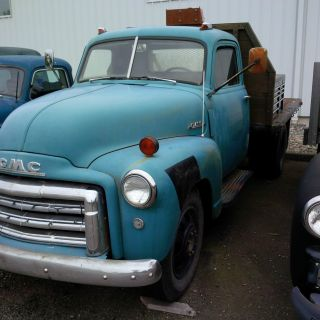 1947 Gmc 1 1 / 2 Ton Flat Bed photo