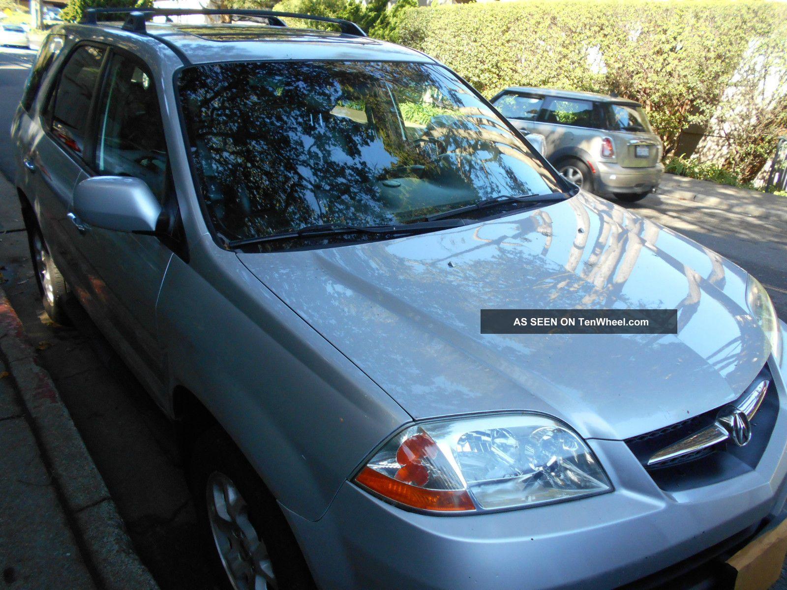 2001 Acura Mdx Touring Sport Utility 4 - Door 3.  5l MDX photo