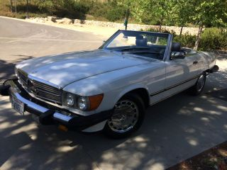 1988 Mercedes Benz 560 Sl photo