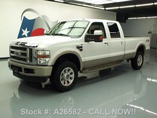 2010 Ford F - 350 King Ranch Crew 4x4 Off - Road Diesel 21k Texas Direct Auto photo
