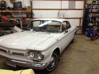 1962 2 Door Corvair,  Automatic,  80hp,  Paint And Body.  From Az.  Intr photo