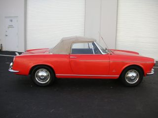 1967 Fiat 1500 Pininfarina Cabriolet photo