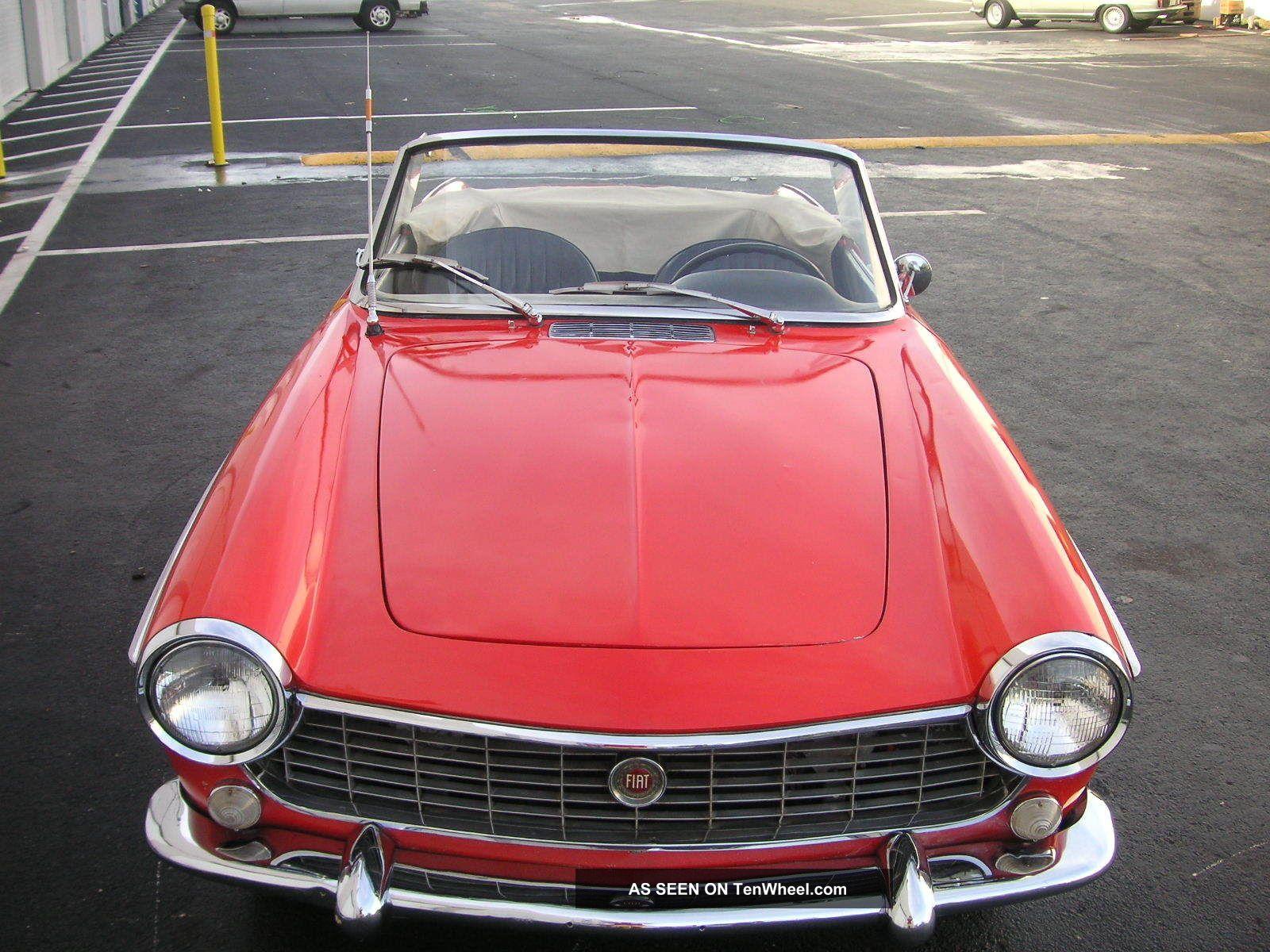 1967 fiat 1500 pininfarina cabriolet. Black Bedroom Furniture Sets. Home Design Ideas