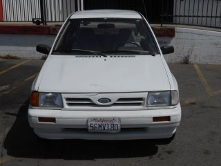 1992 Ford Festiva Gl Hatchback 2 - Door 1.  3l photo
