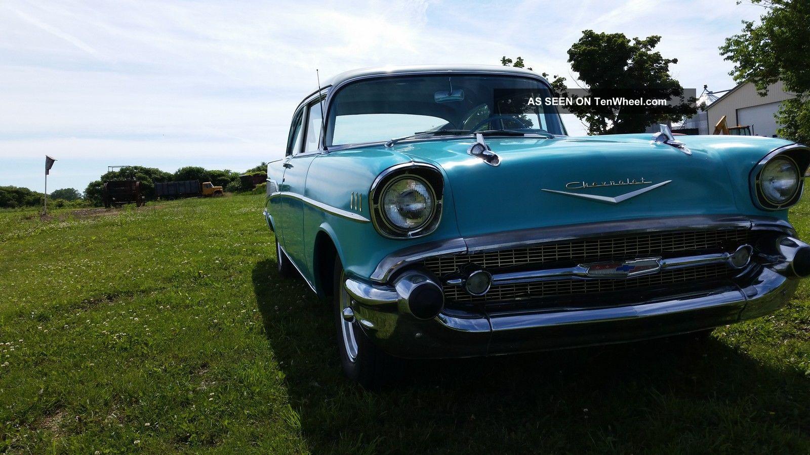 1957 chevy belair 2 door sedan for 1957 chevrolet 4 door sedan