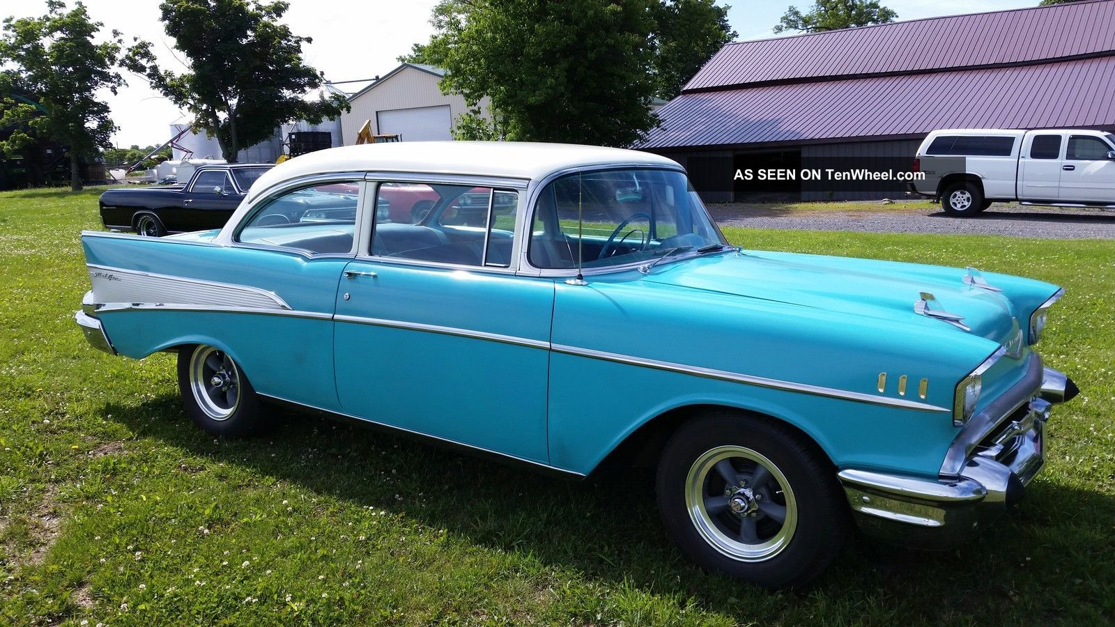1957 chevy belair 2 door sedan