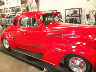 1938 Chevy Stylemaster Coupe Viper Red photo