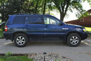2007 Toyota Highlander Limited Sport Utility 4 - Door 3.  3l photo