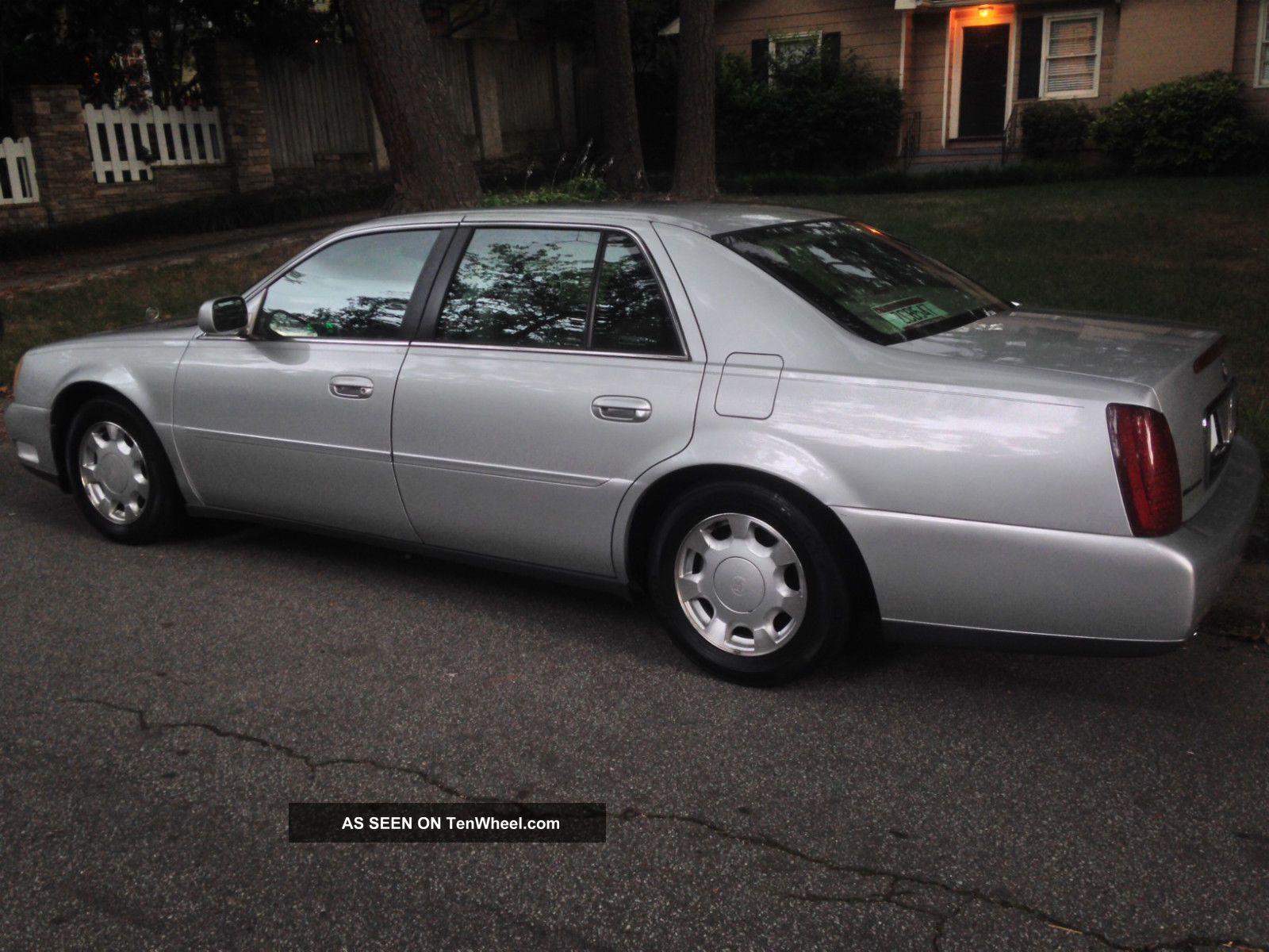 2000 Cadillac Deville Base Sedan 4 Door 4 6l