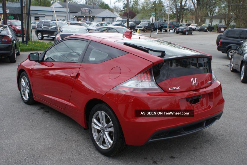 2011 Honda Cr Z Ex Hatchback 2 Door 1 5l