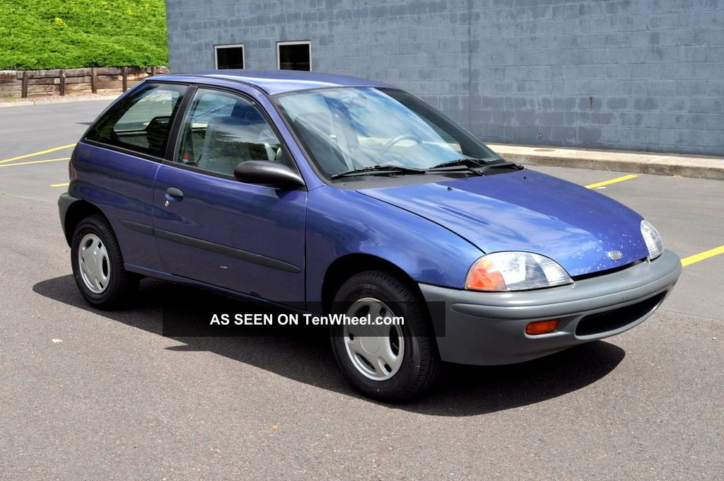 1997 Geo Metro Lsi 3dr Hatchback 5 - Speed 58 Mpg Fantastic Survivor Condition Geo photo