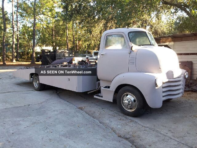 1950 Chevrolet Coe Wrecker (ramp Truck) Other photo