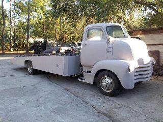 1950 Chevrolet Coe Wrecker (ramp Truck) photo