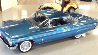 "1960 Pontiac Parisienne Sport Coupe ""bubble Top"" - All Stock - Car. .  Wow photo"