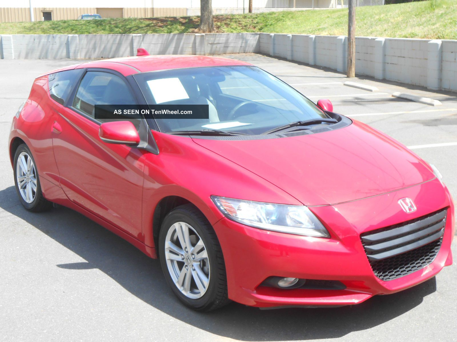 2011 Honda Cr - Z Ex Hatchback 2 - Door 1.  5l,  Red, ,  Loaded CR-Z photo
