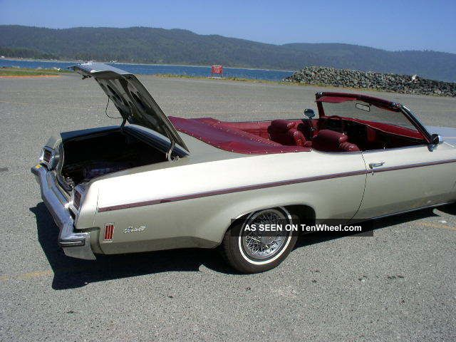 1973 Oldsmobile Delta 88 Convertible Eighty-Eight photo