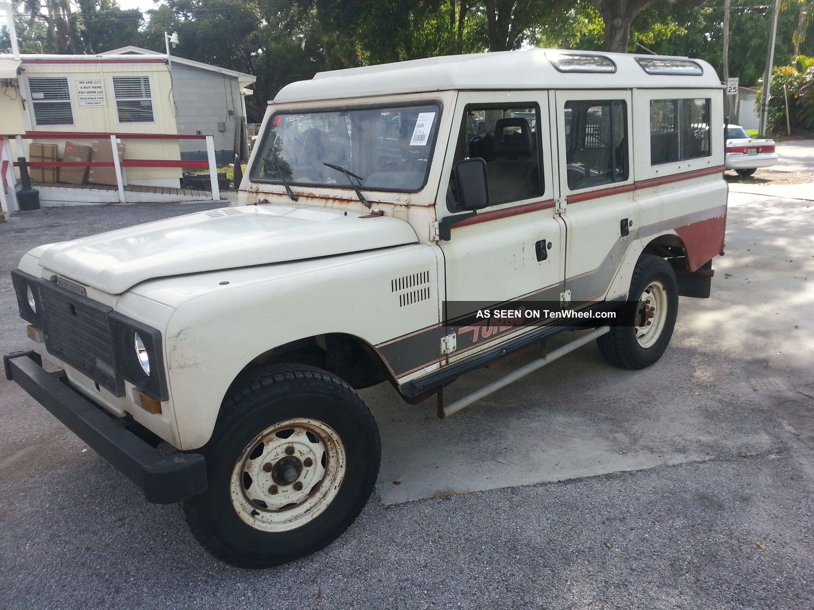 1984 Landrover Land - Rover Land Rover Santana 109 110 Turbo Diesel Landy 1982 Defender photo