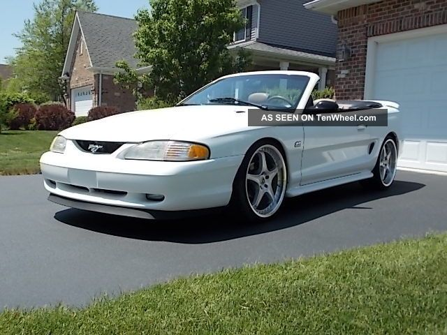 1995 ford mustang gt convertible 5 0 arizona car with lots of mods. Black Bedroom Furniture Sets. Home Design Ideas