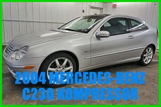2004 C230 Kompressor Sport 1.  8l I4 16v Auto Rwd Coupe Premium photo