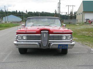 1959 Edsel Convertible - - - - - Rare + photo