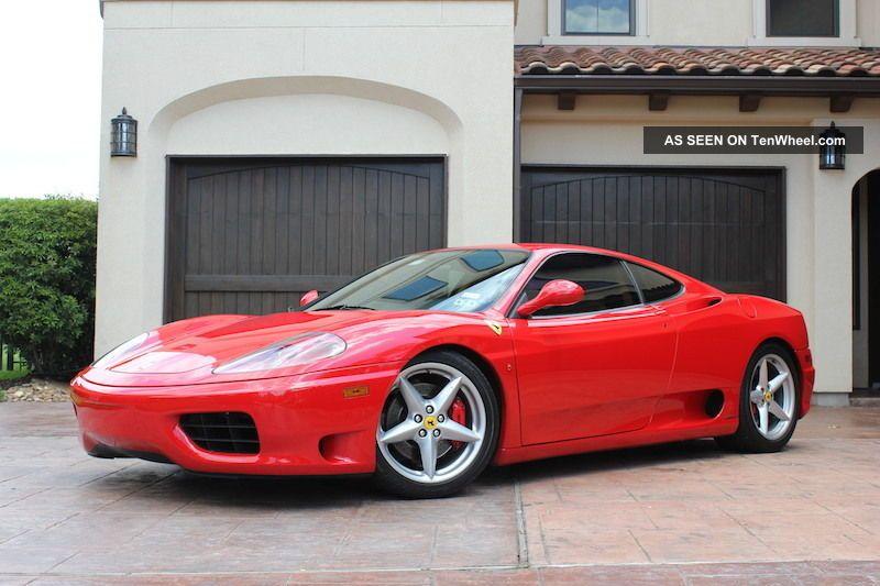 2001 Ferrari 360 Modena F1 Nouvalari Service Recs Scuderia Sheilds Daytona Seats 360 photo
