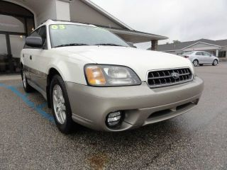 2003 Subaru Outback Base Wagon 4 - Door 2.  5l photo