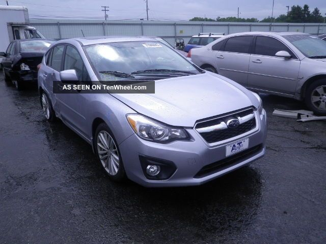 2012 Subaru Impreza Limited Wagon 4 - Door 2.  0l Impreza photo