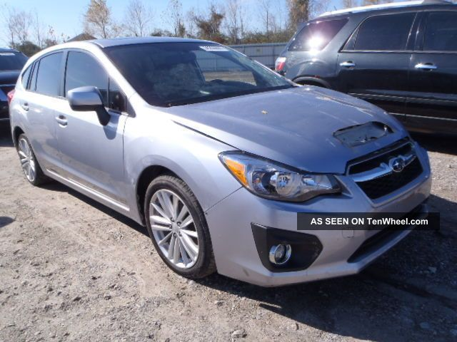 2012 Subaru Impreza Wagon 4 - Door 2.  0l Impreza photo